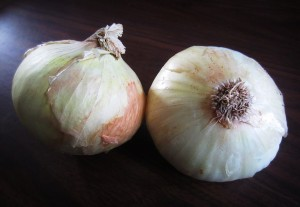 Onions can improve dietary iron absorption.